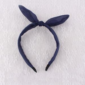 Chiffon rabbit ear knot hair band wholesale