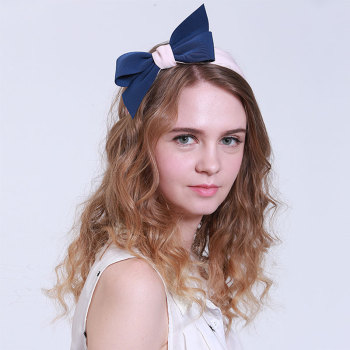 New style cotton bow knot hair band for women