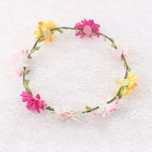 Nicest girl crown flower headband supplier