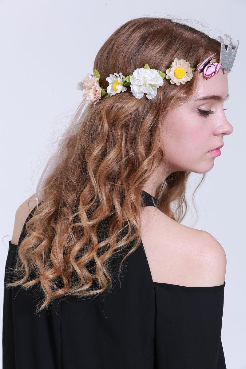 Flower Crown Wreath Headband