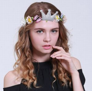 Butterfly crown flower headband for children