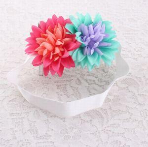 Handmade chrysanthemum flower crown elastic