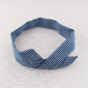 Rabbit Ear Ribbon Strip Wire Headband