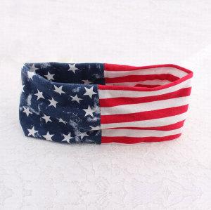 Unisex american flag headband