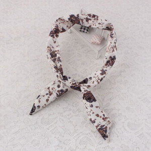 Vintage floral dolly bow headband wholesale