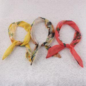 Chiffon floral dolly bow headband wholesale