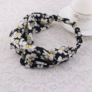 Turban floral headwrap korean fashion wholesale