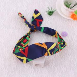 Urban silk scarf ribbon headband