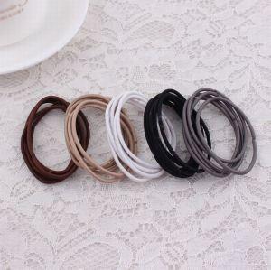 3mm no metal elastic rubber hair band