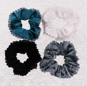 Velvet Elastic Hair Tie Band Ponytail Holder for Women