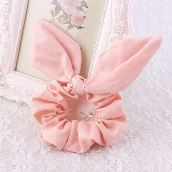 Korean chiffon rabbit ear hair scrunchie
