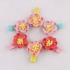 Japanese cherry hair clip for toddlers Chinese supplier