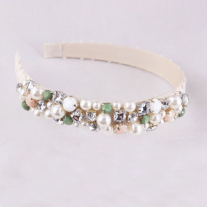 Wedding beaded hair band wholesale suppliers