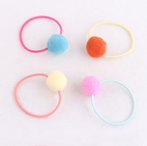 Colors Pom-Pom hair bobble for girl