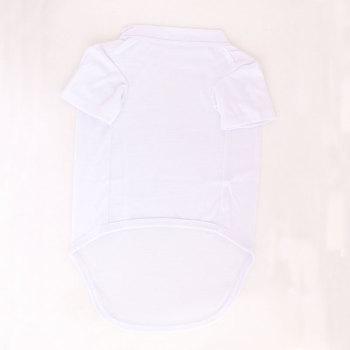 White Dog Cat Pet Vest T-Shirt Dress Summer Clothes