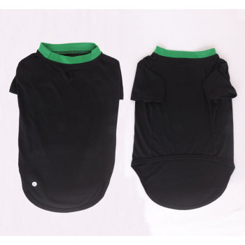 Black Pet Summer Clothes dog clothing wholesale