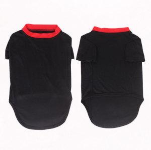 Black Pet t-shirt Summer Clothes dog clothing sale