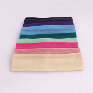 New colors sport washing stretch head fitness headbands for short hair
