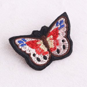 Pins embroidered butterfly brooches corsage clothing buckle brooch accessories