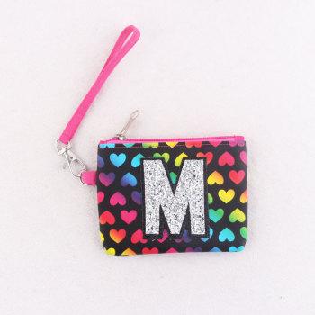 Child Girl Card Holder Wallet Coin Purse Clutch Bag Zipper Waterproof Small Change Bag