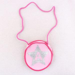 Little Girl Kids Small Satchel Bags Children Pink Coin Bag Canvas Shoulder Bag /Handbag