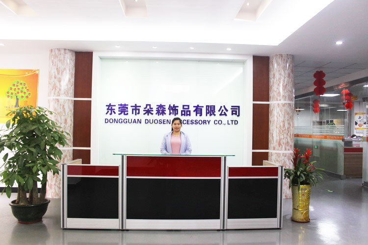 fashion hair accessory manufacture of Dongguan duosen accessory company from china