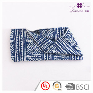 Urban women irregular printed stretchy wide boho bandeau headbands free spirit jeans for yoga running