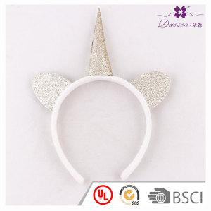 Best Bithday Party Gift Idea Gold Glitter Horn Unicorn Ears Headpiece Unicorn Cosplay Halloween Costume For Kids Girls Boys Adult Unicorn Photo Shoots