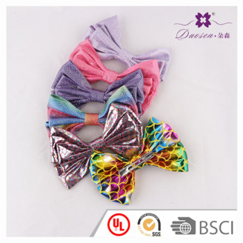 2017 Newest Design Unique Print Pattern Baby Bow Hair Clip for Baby Girl Wholesale BSCI Audit Manufacturer