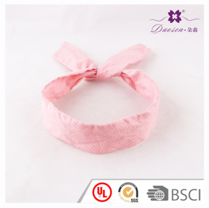 Wholesale Hair Accessories Manufacturer Pink Korean Fashion Bunny Ears Headband for Women for teenager girls