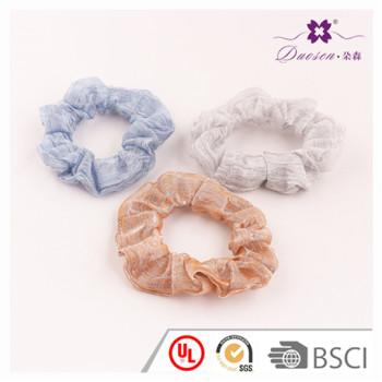 2017 BSCI Audit Factory Wholesale Popular Design Hair Scrunchies Hair Tie Bracelet for Women