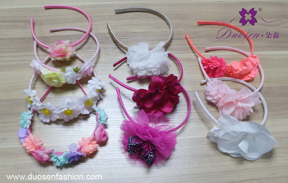 flower headbands for toddlers