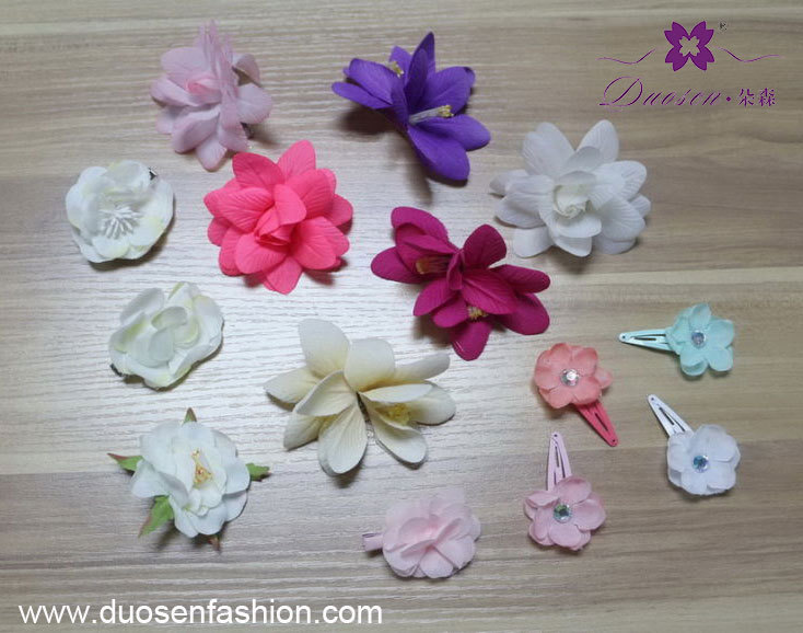 floral hai clip