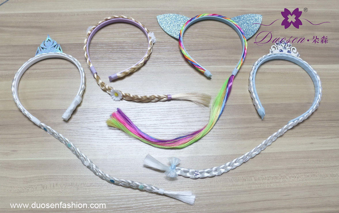 fozen braid hair band