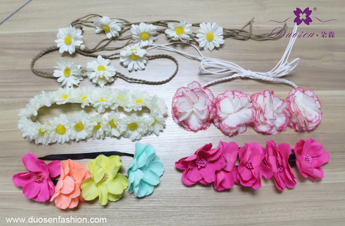flower headband boho