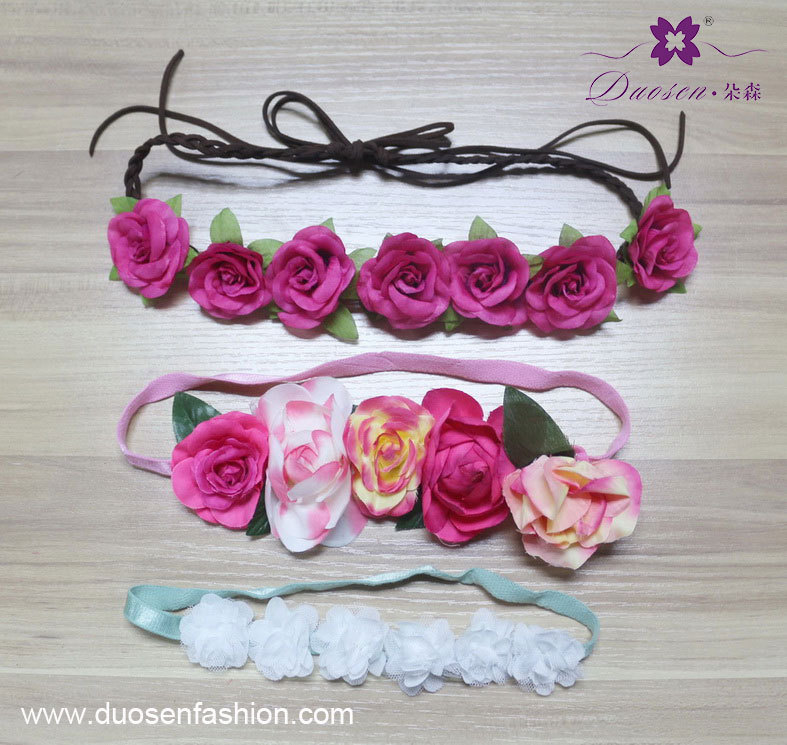 flower headband costume