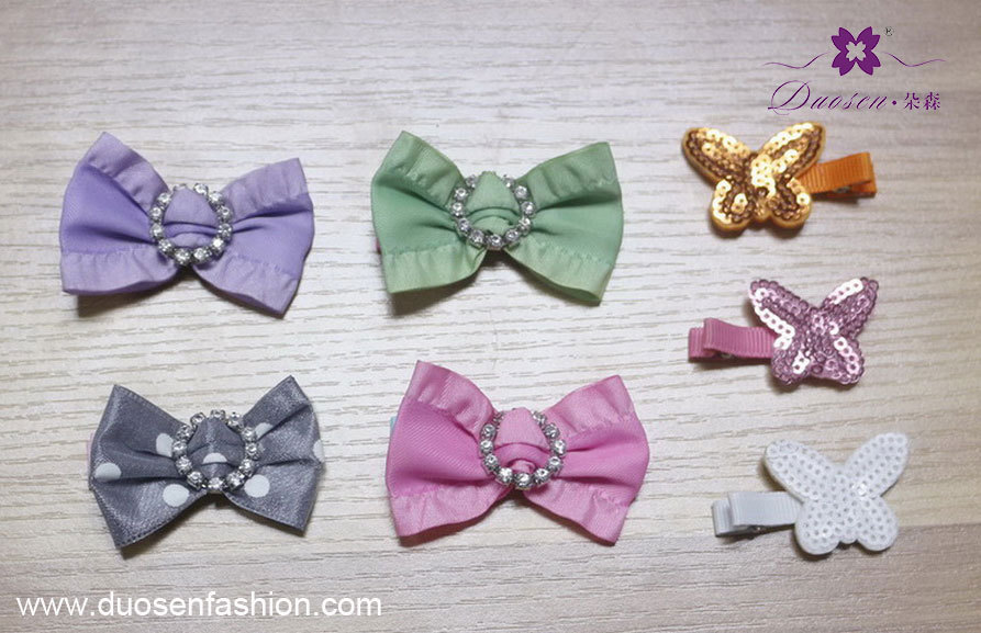 cute ribbon bow hair clip