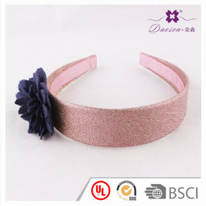 2017 Women fashion Design White Fabric wide Knot Bow  Hair Band for Girls