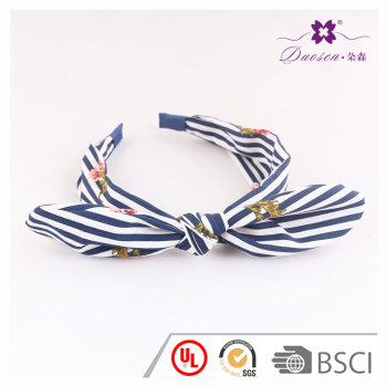 2017 Women fashion Design  bowknot   Hair Band for Girls with blue and pink colours