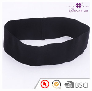 Best sweatband Customized Spandex Stretchy Black Headband For Yoga and fitness