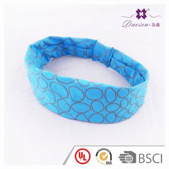 2017 Blue  Headband Fashion popular Spandex Stretchy Tie  For Tennis Running Basketball Outdoors