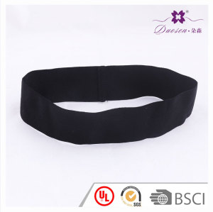 Black Headband Fashion For Man and Women  High Spandex Stretchy band  for  Running Basketball Outdoors