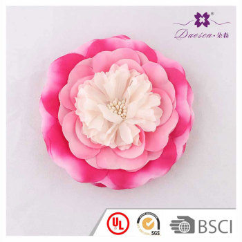 2018 Spring Design Multicolor Fabric Flower Hair Clips Rose Band for Girl