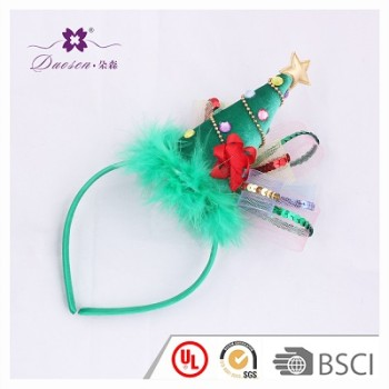 2018 Hot Design Decoration Festival Hair band Christmas Hairband for Kids