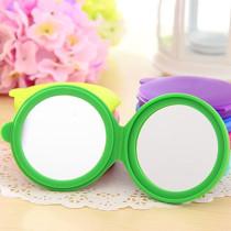 Portable hand mirror pocket mirror