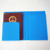 2017 New Years Products Fancy Silicone Travel Passport Holder