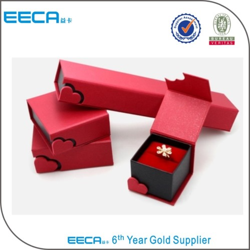 2017 Unique Handmade jewelry box Personalized Red foldable Jewelry ...