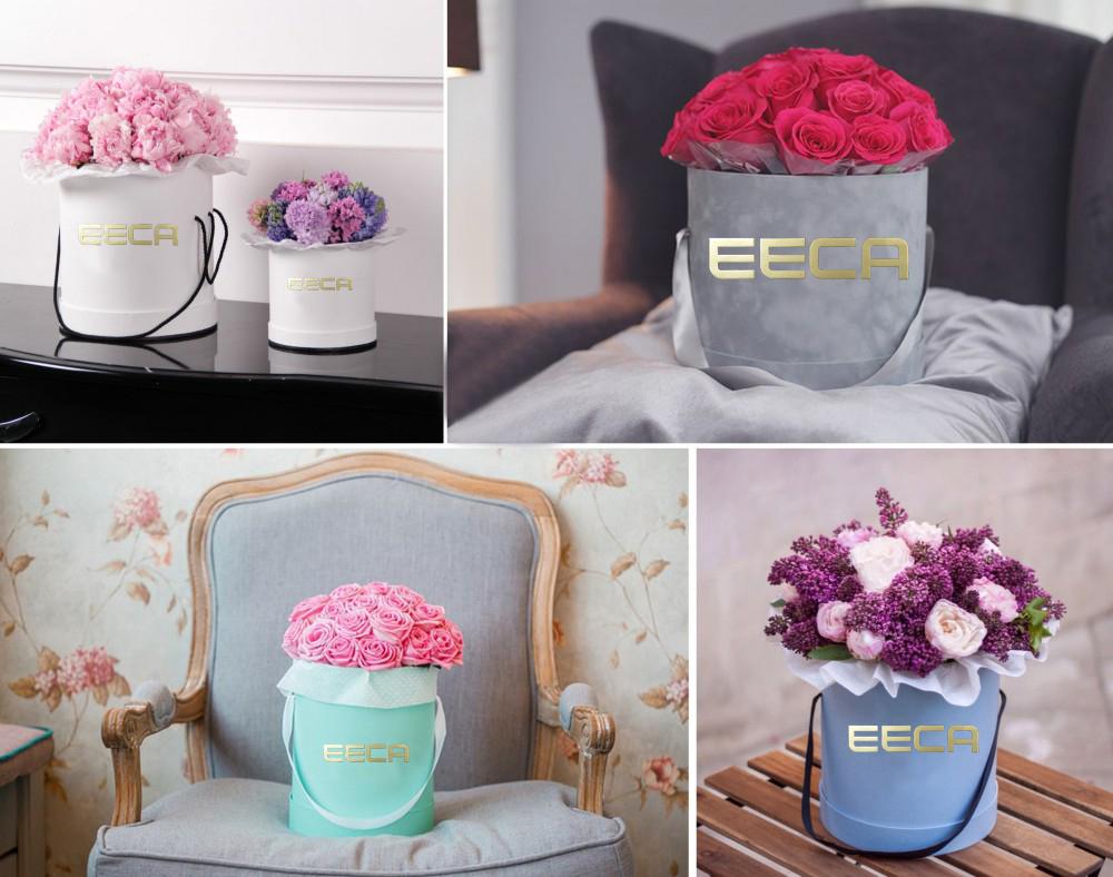 Цветы в картонной коробке своими руками 71