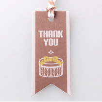 Hang tag wholesale/Ropes hang tags/gift hang tag/thank you labels in EECA China
