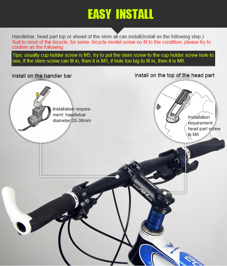 phone mount bike